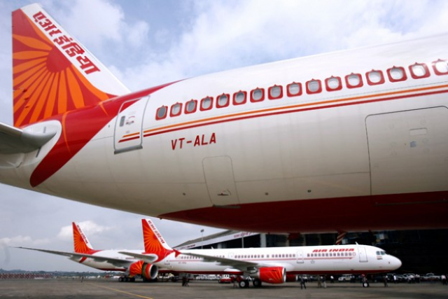 Air India site crashes, like Indi